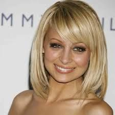 side swept bangs side swept and mid length bobs on pinterest