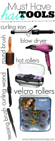 hair styling tools: Must have hair tools