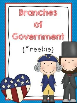 The Branches of Government Craft {Freebie} Unit One