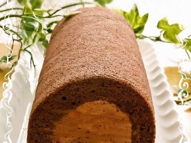 ケーキ チョコ ロール