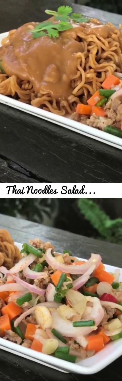 Thai Noodles Salad | Homemade Recipes | Cooking Recipes... Tags: Thai noodles, mama, mama noodle, Thai mama, Thai mama noodle, Thai noodle salad, Yum Mama, Thai noodle salad recipes, Thai food recipes, Thai noodle recipe, Thai food, Thai cuisine, Thai cooking, Thai kitchen, Thai homemade recipes, Thai cooking recipes, Noodle salad, Noodle Salad Recipes, Salad, Salad Recipes, Thai yummy food, Thai yummy noodle, Delicious food, delicious Thai food, Thai cooking classes, Thai cooking art…