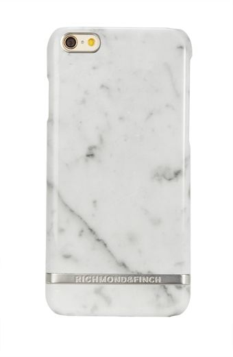 White Marble - Silver