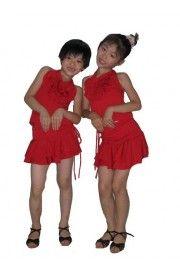 Çocuk Salsa Dans Kostümü