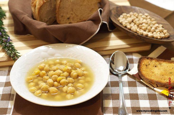 Ceci in brodo - My Cooking Idea http://www.mycookingidea.com/2014/01/ceci-in-brodo/