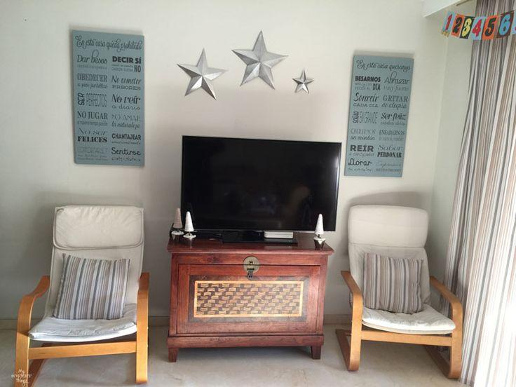 Tutorial sobre cómo hacer estrellas de imitación de metal de artículos para el hogar común y la pintura de aerosol de plata