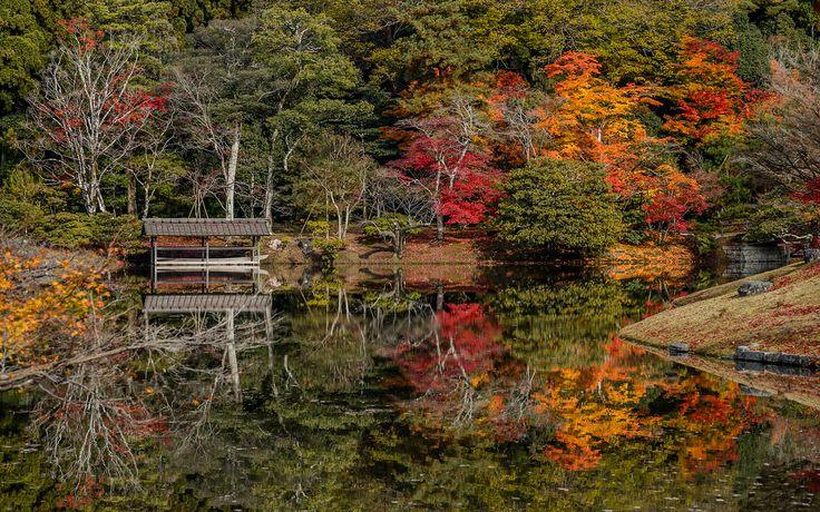 Kyoto Photo: Pond At Shugakuin Rikyu Imperial Villa