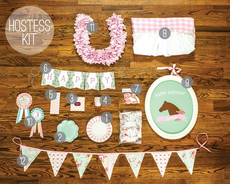 Decor? Check. Linens? Check. Tableware? Check.  Just bring the birthday girl and you are set! Everything you need for a birthday delivered to your door!