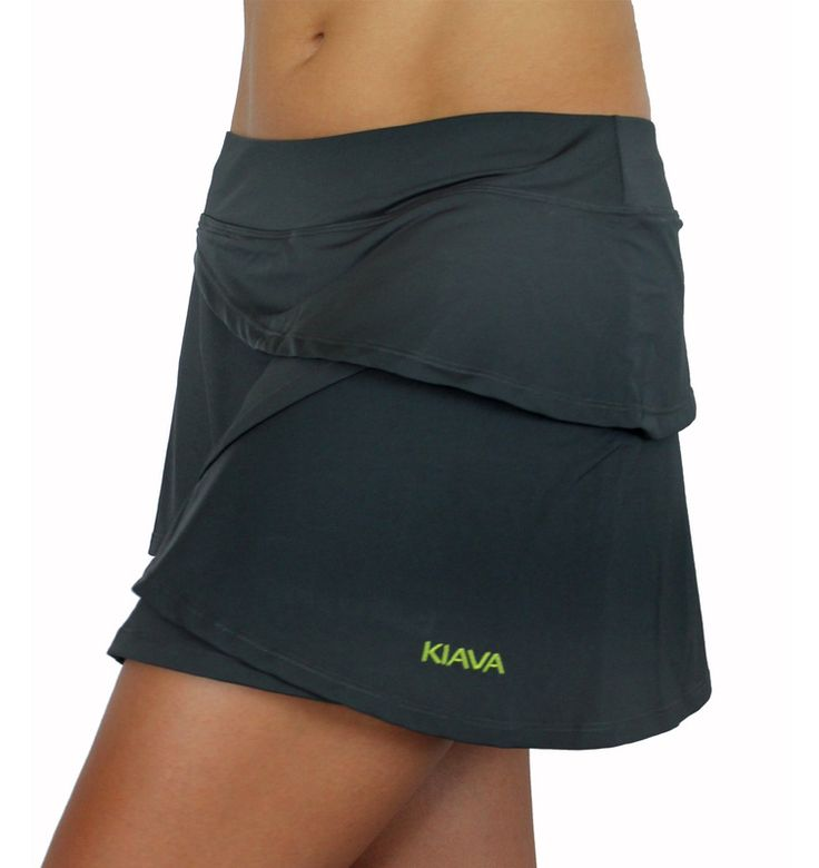 The Charcoal Grey Petal Skort!  Maybe after Cupcake is born and I'm back in karate...