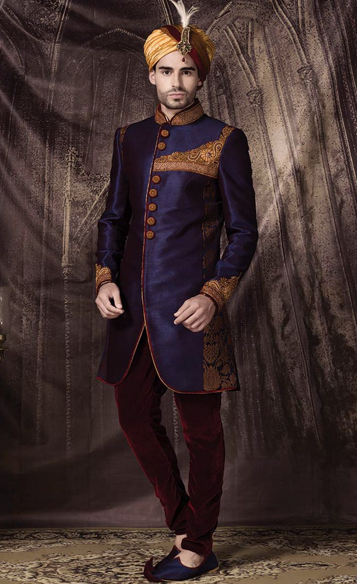 Change your attire for the day you want to look handsome. A sherwani could enhance your look to a much extent.