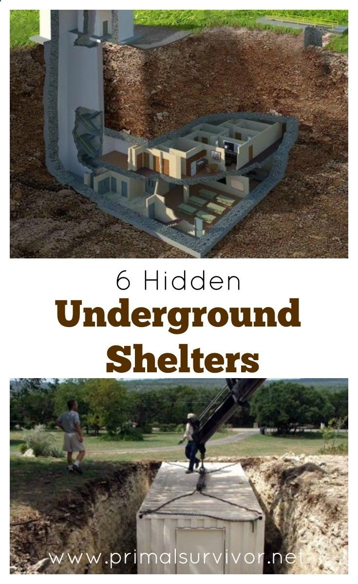25 best ideas about underground survival shelters on for Hidden storm shelter
