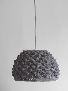 Luminaire tricoté