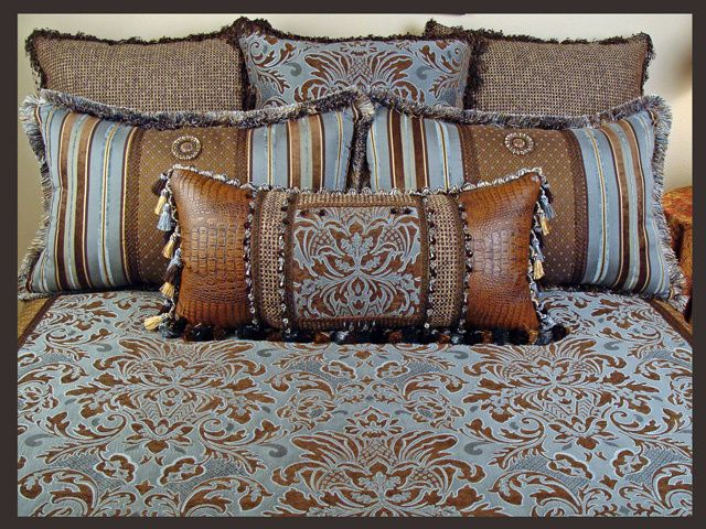 Southwestern Luxury Powderhorn Bedding Collection
