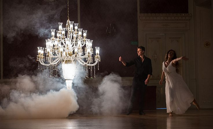 The Dance of Light, shooting of Official video of AYSAN. #luxury #chandeliers www.aysan.com