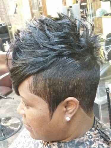 Signature Cut and Style..Visit Tomekia @Studio 4 Salon in Atlanta,Ga...or Call 678-379-8587...IG @overflowin2014