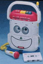 1990s Toys for Girls | Description The Rockin' Robot cassette player/recorder has AM/FM radio ...