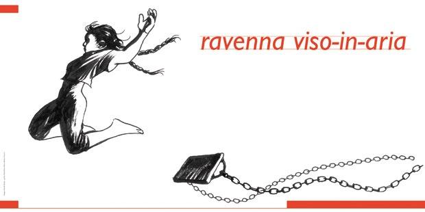 Ravenna viso-in-aria, ottobre 2012 maggio 2012, disegno di Davideo Reviati