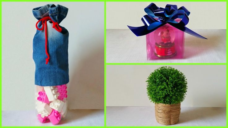 DIY creative ideas how to reuse plastic bottles PART 2 recycling ideas crafts