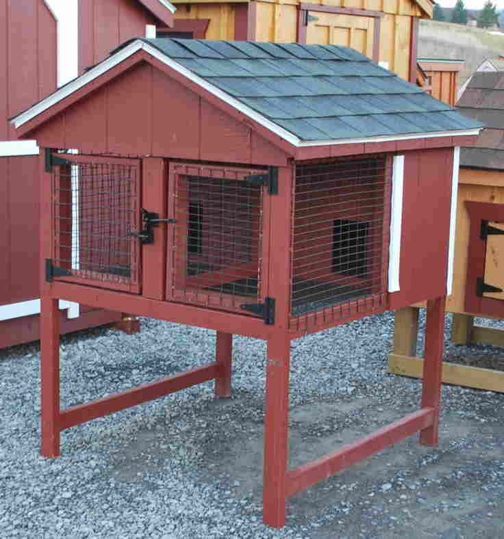 how to build a rabbit hutch for 2 rabbits