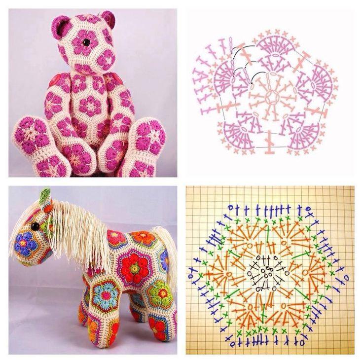 Plus De 1000 Idées à Propos De Crochet Flowers Tutorials