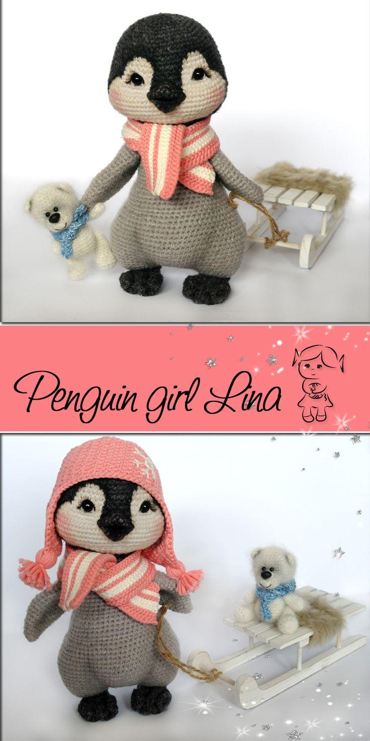 #crochet #pattern #penguin #amigurumi