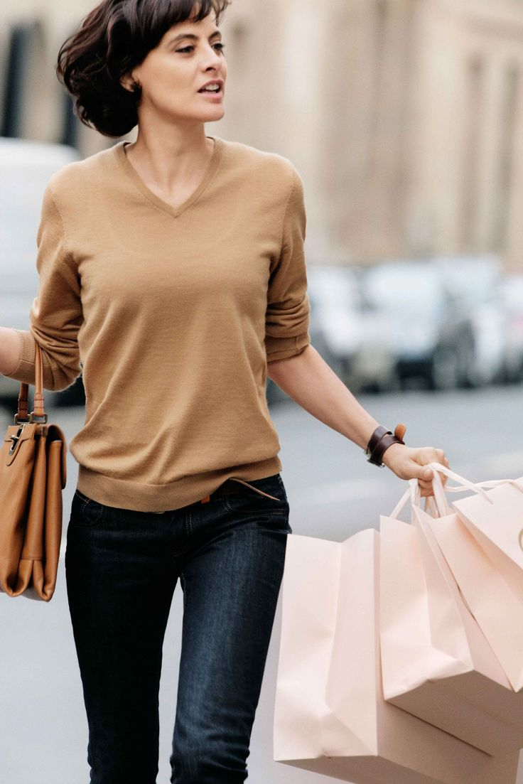 Ines De La Fressange - Camel Sweater