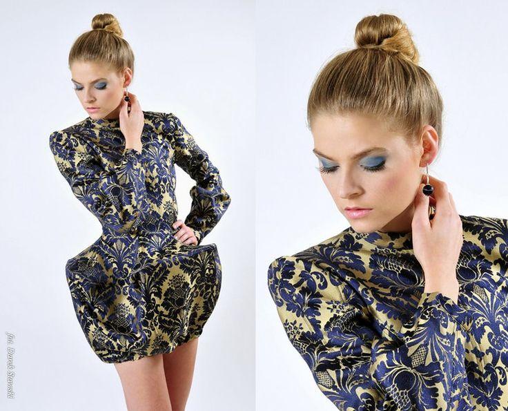 sukienka żakardowa od Gabrieli Hezner - gabrielahezner - Suknie wieczorowe