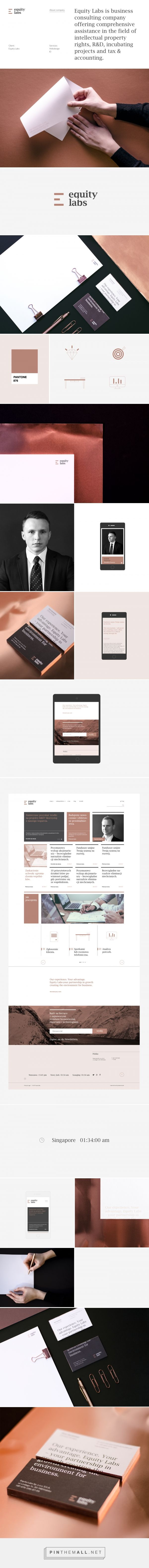 Equity Labs on Behance - created via https://pinthemall.net