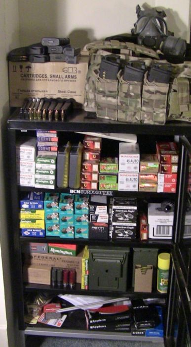 AMMO STOCKPILE ... oh, if only...