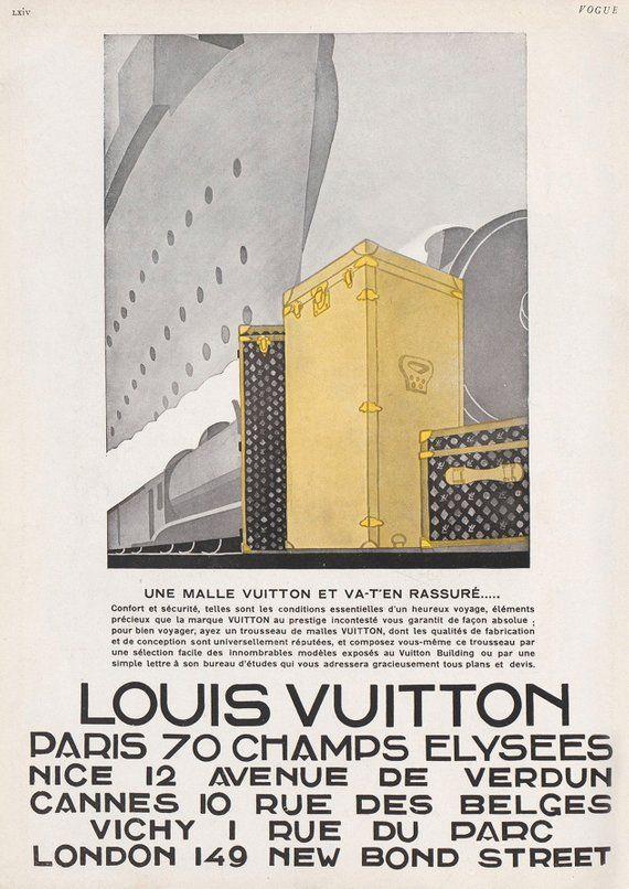 vintage louis vuitton ads majesty maps