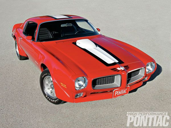 '72 Trans Am (only Factory Cardinal Red '72) 455HO 4bbl V8/M20 4sp/3.08 Safe-T-Track diff.......