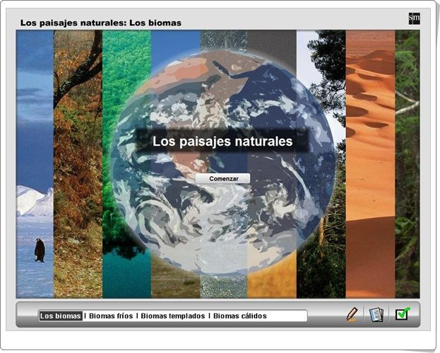"""Los paisajes naturales"" (Geografía de 1º de Secundaria)"