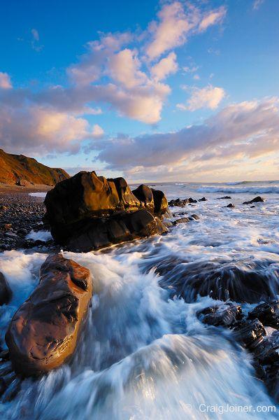 Sandymouth on the North Cornwall coast, Bude, Cornwall, England, United Kingdom.