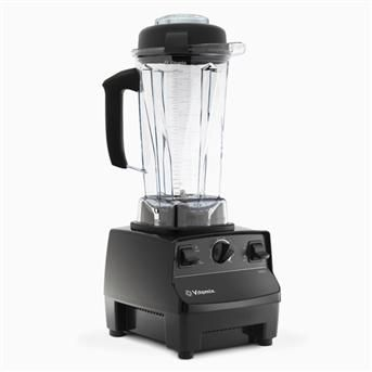 How to Clean BlendTec or Vitamix Blender: THIS TOTALLY WORKS!!! Sprinkle baking soda inside your blender. Pour about 1/4 -1/2 cup of white vinegar into blender. Swirl around. You will see a fizzing action occurring as the baking soda & vinegar react. Add 2-3 cups warm/hot water. Run on high for 30-60 seconds. Let sit for an hour. Rinse thoroughly. Let dry. Container should be like new, sparkly & clear. And the vinegar will not only clean it, but also sanitize it by killing germs! Who knew?!