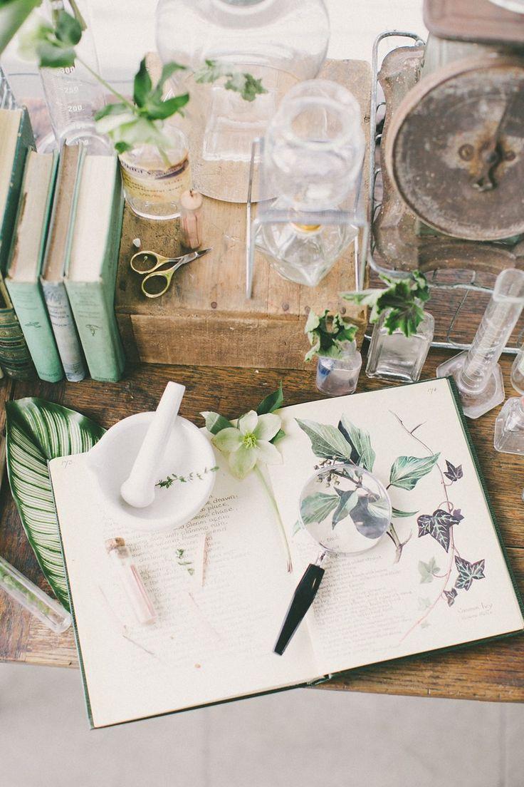 Vintage Botanical Wedding Stationery