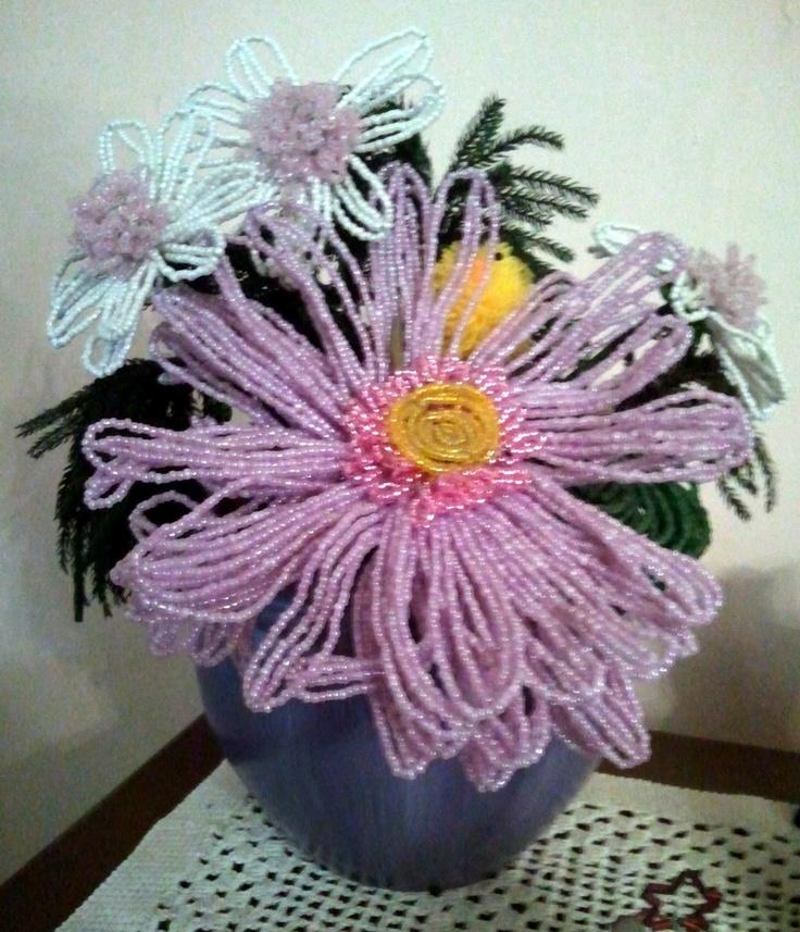La Girandola Creativa: vaso di fiori di Perline