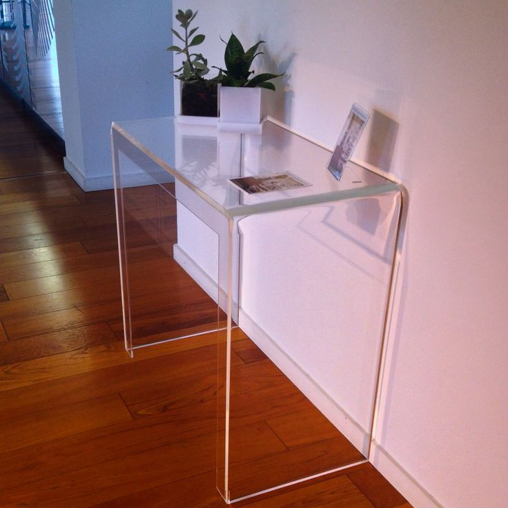 Clear Acrylic Console Table By #designtrasparente #console