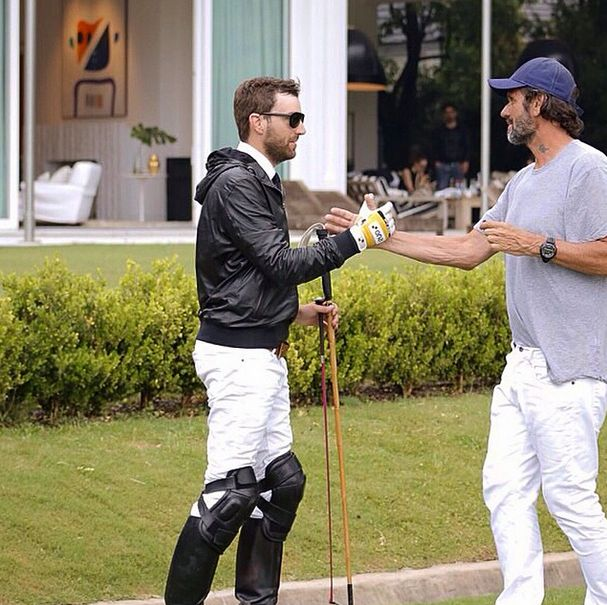 Finishing Etiqueta Negra´s new shooting campaign with Polito Pieres. This year he will become part of Ellerstina Polo Team.