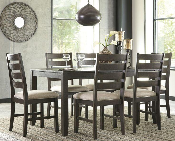 Signature Design by Ashley Rokane 7 Piece Dining Set & Reviews   Wayfair.ca