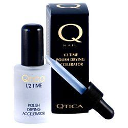QTICA Half Time Drying Accelerator - 1 oz. by QTICA. $20.99. The original and patented nail polish drying drops that thoroughly dry all. layers of top coat, nail polish and base coat to the touch in minutes.. The original and patented nail polish drying drops that thoroughly dry all layers of top coat, nail polish and base coat to the touch in minutes.   What Qtica Half Time Polish Drying Accelerator Does   Say good bye to nail polish dents, bubbles, smudges and streaks on your ...