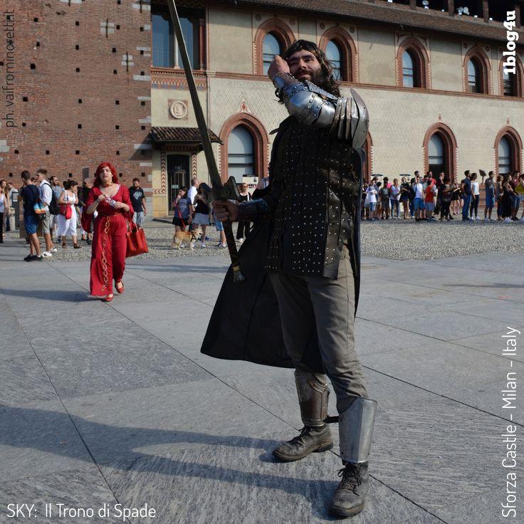 On Saturday 15th and Sunday, July 16th, at the #Sforza #Castle in #Milan was held #GAME #of #THRONE: #Winter #is #Coming by #Sky #Atlantic - #HBO #GoT - #Castello #Sforzesco #Foro #Buonaparte #CheSpettacolo - #1blog4u #Gabriella #Ruggieri #blogger #blogging #bloggerstyle #lifestyle #bloggerlife #Sergio #Bellotti #drumlife #igersmilano #instamilano #ig_milano #photography - ph. credit #Vaifro #Minoretti for 1blog4u