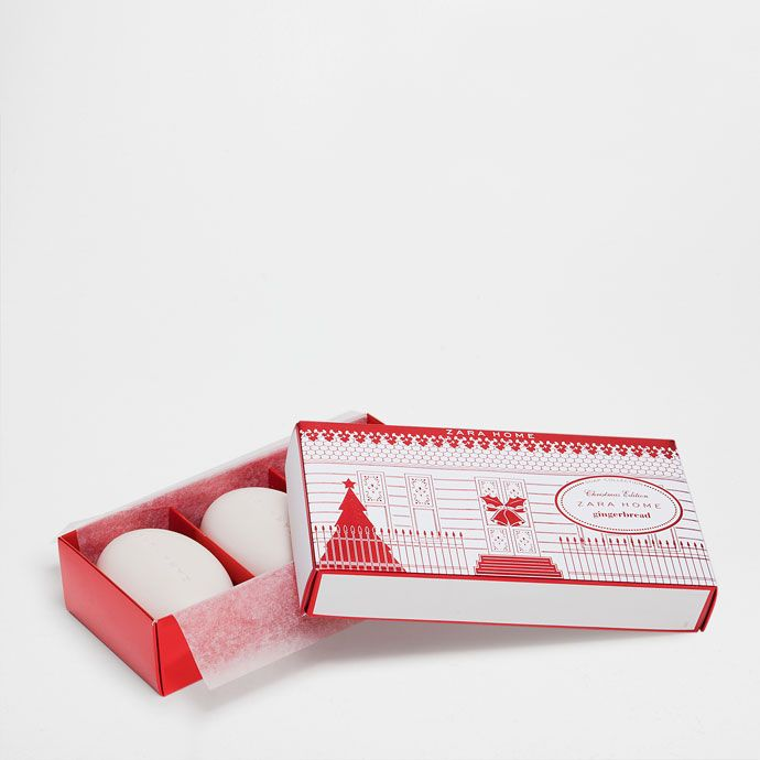 Σαπούνια GingerBread Ειδική έκδοση (σετ των 3) - Special Edition - Αρώματα - Καλλυντικά | Zara Home Ελλάδα / Greece