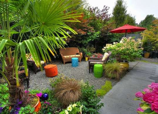 Top 25 ideas about tropical backyard landscaping on pinterest tropical backyard florida - How to create a small outdoor oasis ...