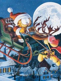 garfield christmas - Google-haku