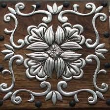 Resultado de imagen para repujado en metal patrones gratis                                                                                                                                                     Más