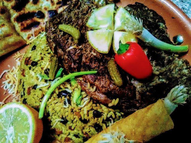 C-Lo's Olio Of Eatz: Black-Ranch Chili Bean Carne Asada Fiesta!  #Blaxa...