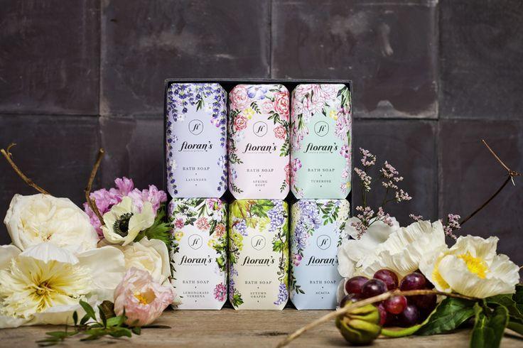 Floran's magyar szappanok, 6 illatban