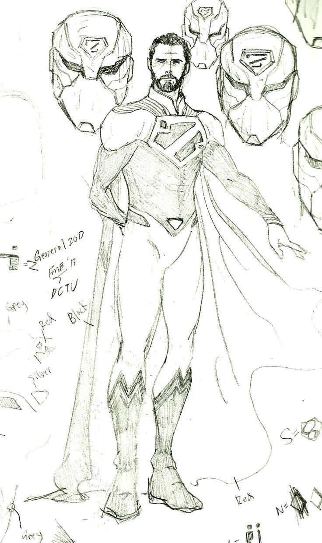 DC:General Zod by kyomusha