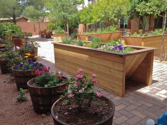 Wheelchair Accessible Gardens By Gardens For HumanityUniversal Design Style