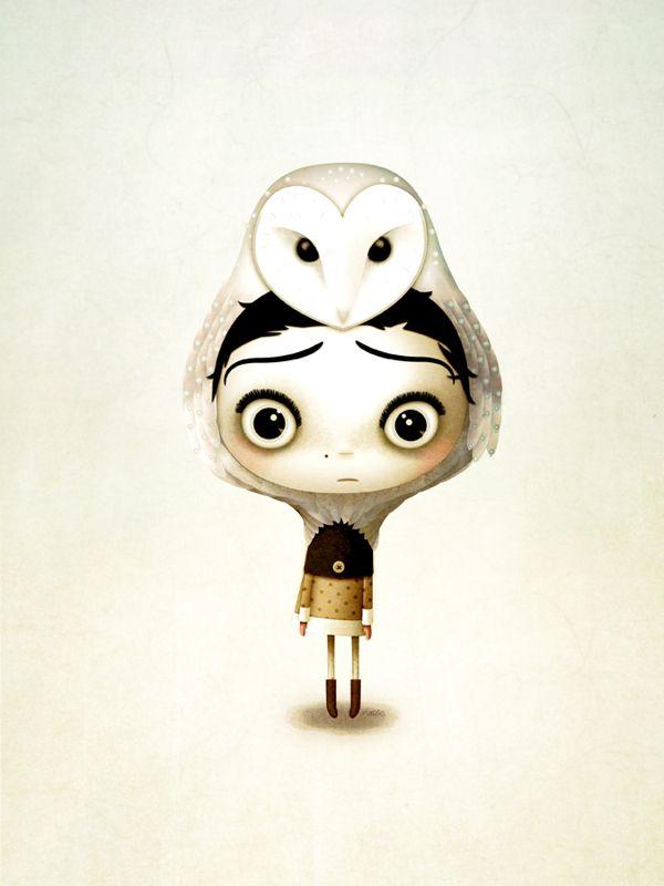 Cute and Funny Character Designs by Marie Breuer/Симпатичный и смешной дизайн персонажей Мари Брейер