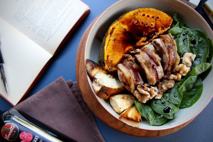 Bacon Wrapped Pork Tenderloin with Autumn Vegetables {Gluten Free} | Wonderland Eats